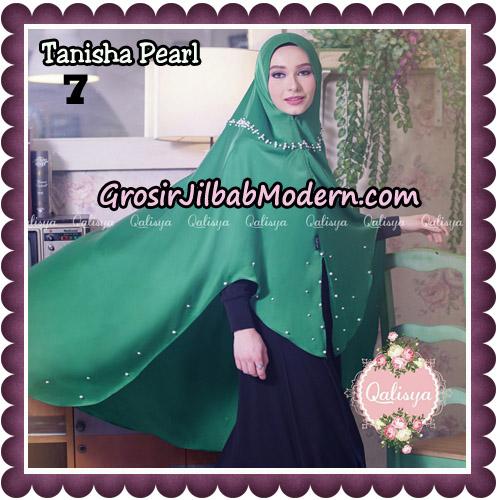 Jilbab Syari Khimar Tanisha Pearl Original by Qalisya Hijab Brand No 7