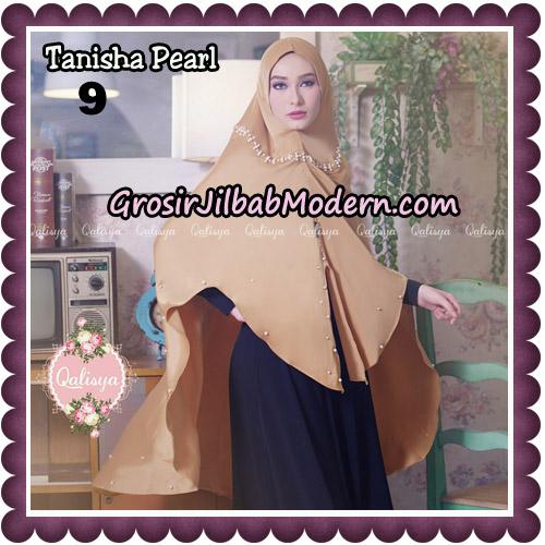 Jilbab Syari Khimar Tanisha Pearl Original by Qalisya Hijab Brand No 9