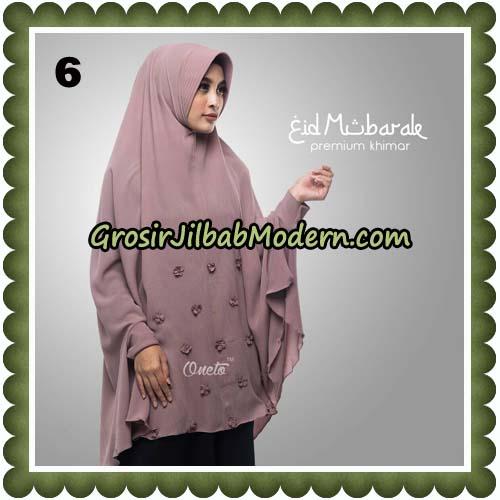 Jilbab Cantik Eid Mubarok Premium Khimar Original By Oneto Hijab Brand No 6