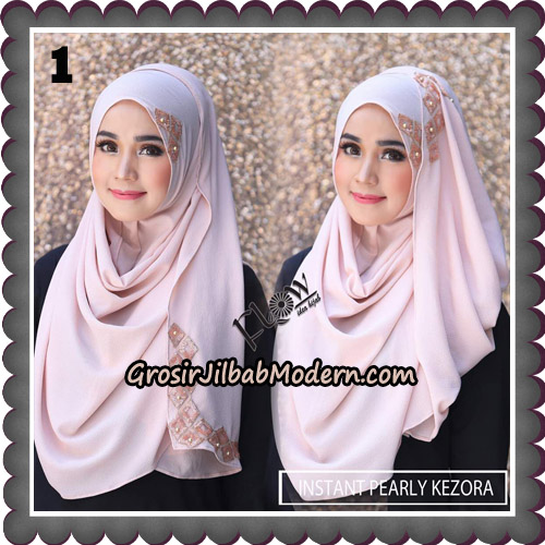 Jilbab Instant Pearly Kezora By Flow Idea Hijab Brand No 1