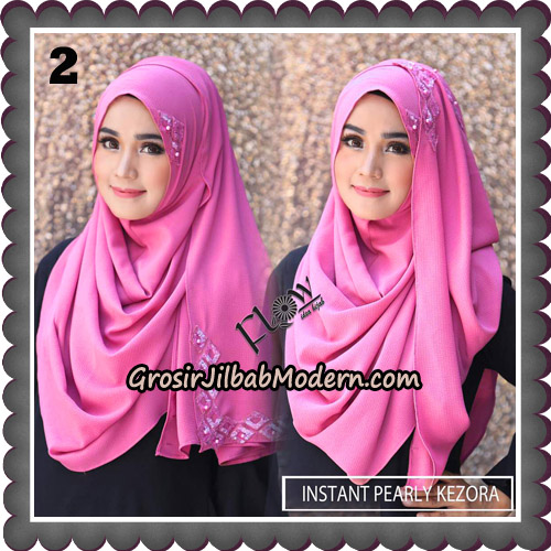 Jilbab Instant Pearly Kezora By Flow Idea Hijab Brand No 2