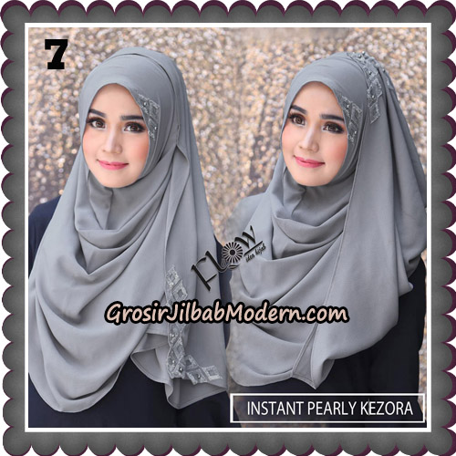 Jilbab Instant Pearly Kezora By Flow Idea Hijab Brand No 7