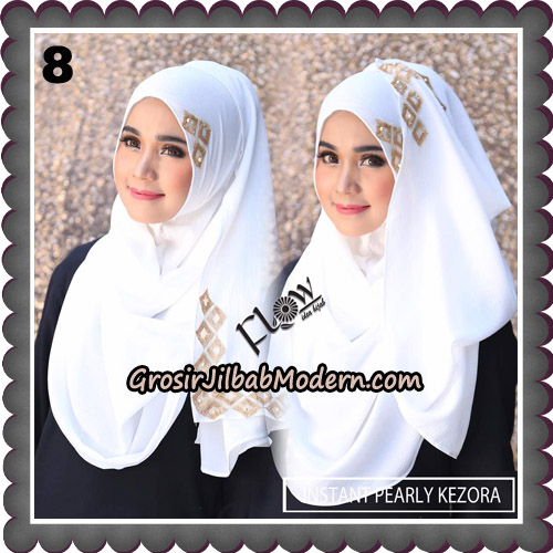 Jilbab Instant Pearly Kezora By Flow Idea Hijab Brand No 8