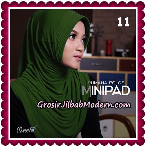 Jilbab Cantik Rumana Polos Minipad Seri 2 Original By Oneto Hijab Brand No 11