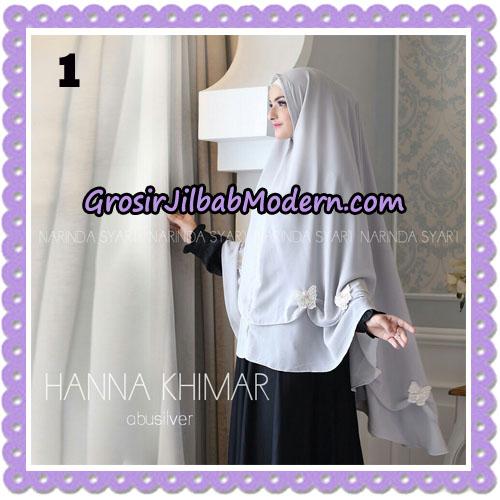 Jilbab Cantik Hanna Khimar Original By Narinda Hijab Brand No 1