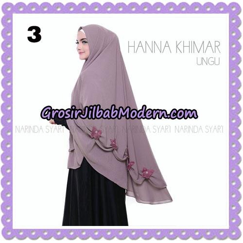Jilbab Cantik Hanna Khimar Original By Narinda Hijab Brand No 3