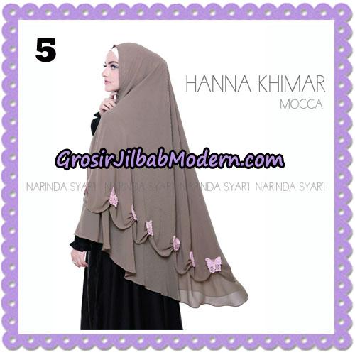 Jilbab Cantik Hanna Khimar Original By Narinda Hijab Brand No 5