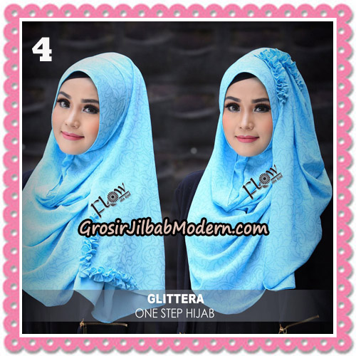 Jilbab Instant Glittera One Step Hijab Original By Flow Idea No 4