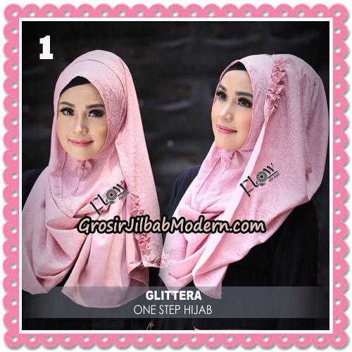Jilbab Instant Glittera One Step Hijab Original By Flow Idea no 1