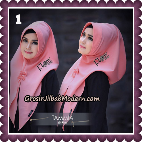 Jilbab Siria Kekinian Tammia Italiano Original By Flow Idea Hijab No 1