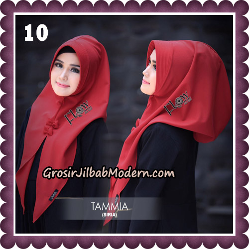 Jilbab Siria Kekinian Tammia Italiano Original By Flow Idea Hijab No 10