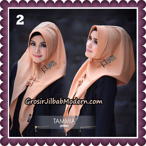 Jilbab Siria Kekinian Tammia Italiano Original By Flow Idea Hijab No 2