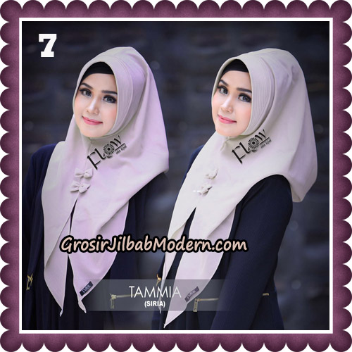 Jilbab Siria Kekinian Tammia Italiano Original By Flow Idea Hijab No 7