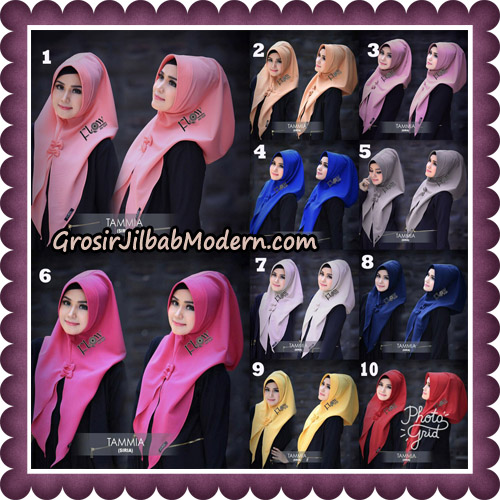 Jilbab Siria Kekinian Tammia Italiano Original By Flow Idea Hijab