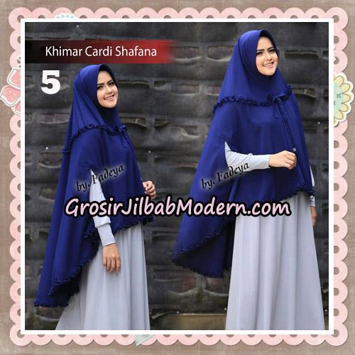Jilbab Cantik Khimar Cardi Shafana Original By Fadeya Hijab Brand No 5