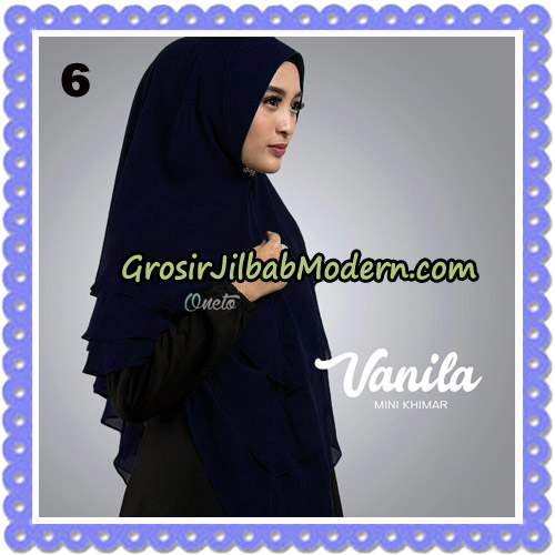 Jilbab Cantik Vanila Mini Khimar Original By Oneto Hijab Brand No 6