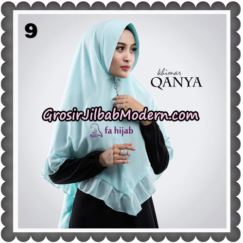 Jilbab Instant Qanya Khimar By Fa Hijab Brand No 9