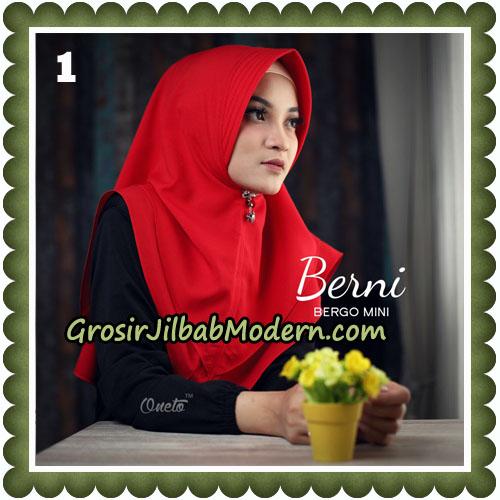 Jilbab Cantik Berni Bergo Mini Original By Oneto Hijab Brand No 1