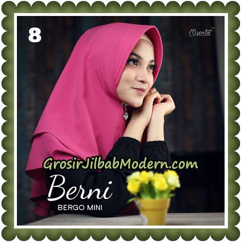 Jilbab Cantik Berni Bergo Mini Original By Oneto Hijab Brand No 8