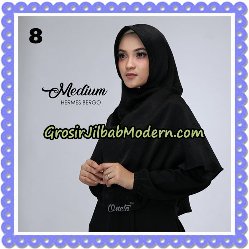 Jilbab Medium Hermes Bergo Original By Oneto Hijab Brand NO 8