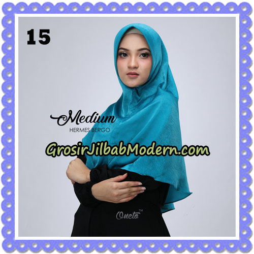 Jilbab Medium Hermes Bergo Original By Oneto Hijab Brand No 15