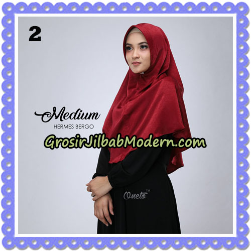 Jilbab Medium Hermes Bergo Original By Oneto Hijab Brand No 2