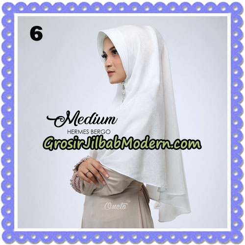 Jilbab Medium Hermes Bergo Original By Oneto Hijab Brand No 6