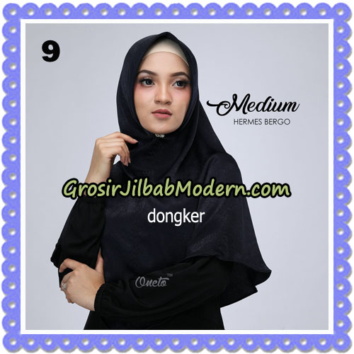 Jilbab Medium Hermes Bergo Original By Oneto Hijab Brand No 9