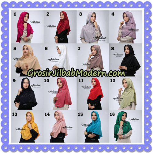 Jilbab Medium Hermes Bergo Original By Oneto Hijab Brand