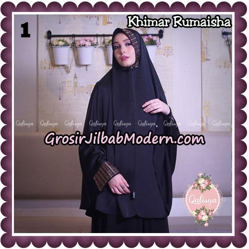 Jilbab Syari Khimar Rumaisha Original by Qalisya Hijab Brand No 1