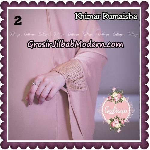 Jilbab Syari Khimar Rumaisha Original by Qalisya Hijab Brand No 2