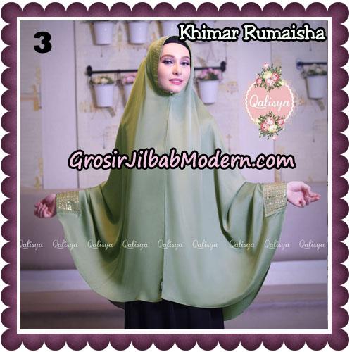 Jilbab Syari Khimar Rumaisha Original by Qalisya Hijab Brand No 3