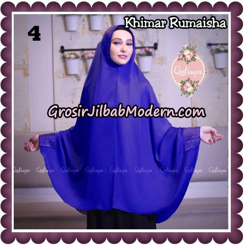 Jilbab Syari Khimar Rumaisha Original by Qalisya Hijab Brand No 4