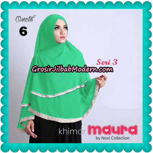 Khimar Maura Seri 3 Original by Novi Collection NO 6