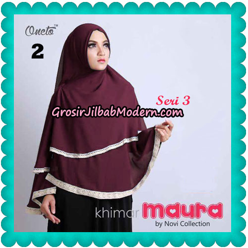 Khimar Maura Seri 3 Original by Novi Collection No 2