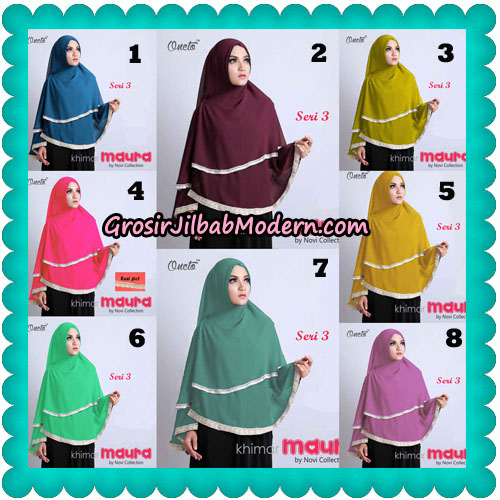 Khimar Maura Seri 3 Original by Novi Collection