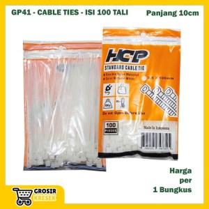 GP41 Grosir Cable Ties 10 cm ROYAL isi 100 Tali Segel Plastik Murah
