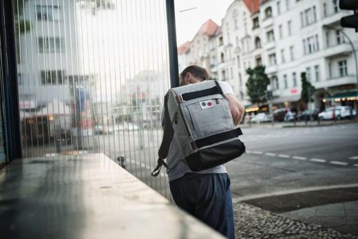 Mein neuer Wegbegleiter   Cubiq DLX   pinqponq   Recycled PET   Foto: René Zieger   GROSS∆RTIG