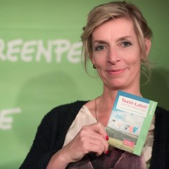 Kirsten Brodde | Greenpeace sowie Grüne Mode Blog | Foto: Kirsten Brodde / Greenpeace | GROSS∆RTIG