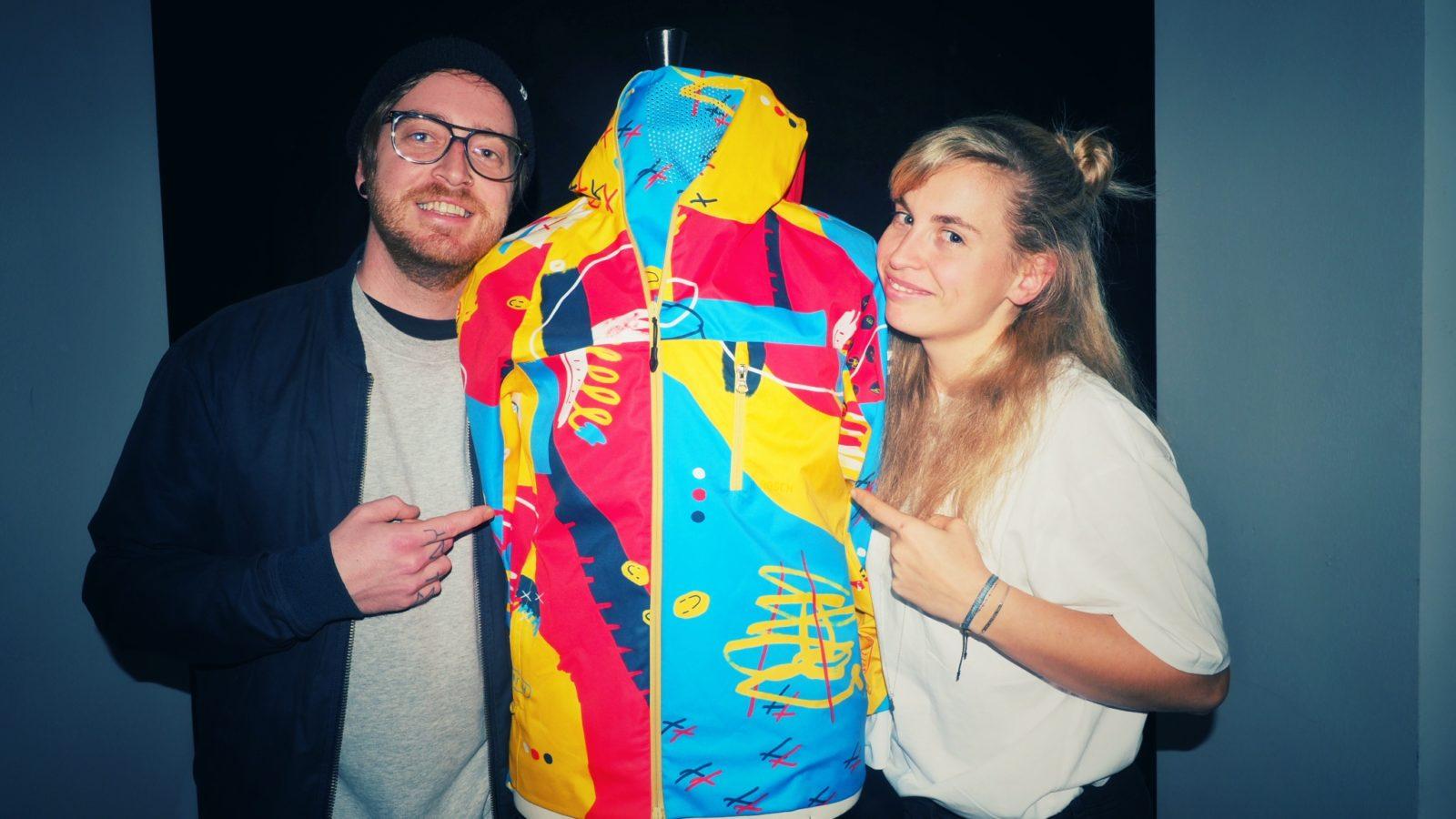 NASCH Sportswear   Nadine Schratzberger aus Wien   Crowdfunding auf Kickstarter   Funktionsjacke / Sportkleidung   GROSS∆RTIG