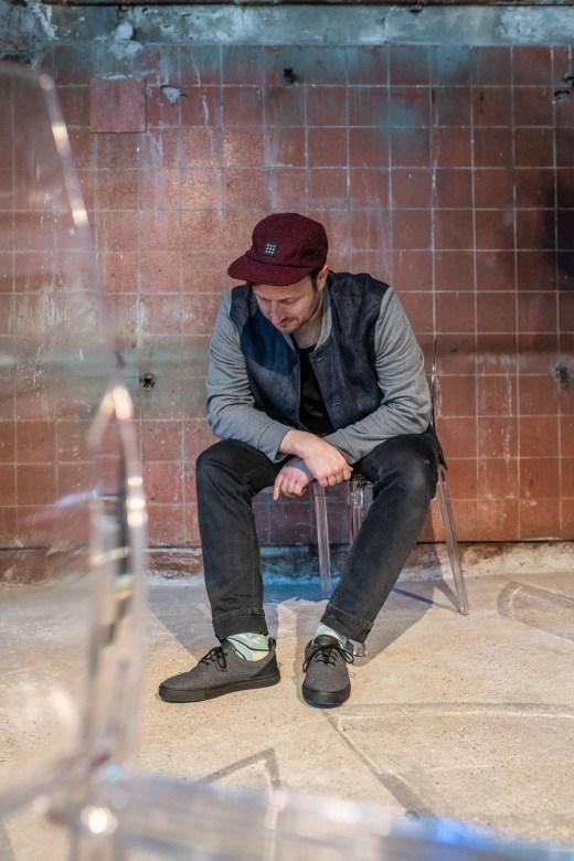 Der ECO⁴Sneaker von bleed | #walkingwithoutfootprints | Crowdfunding auf Startnext | Foto: Kristoffer Schwetje | GROSS∆RTIG