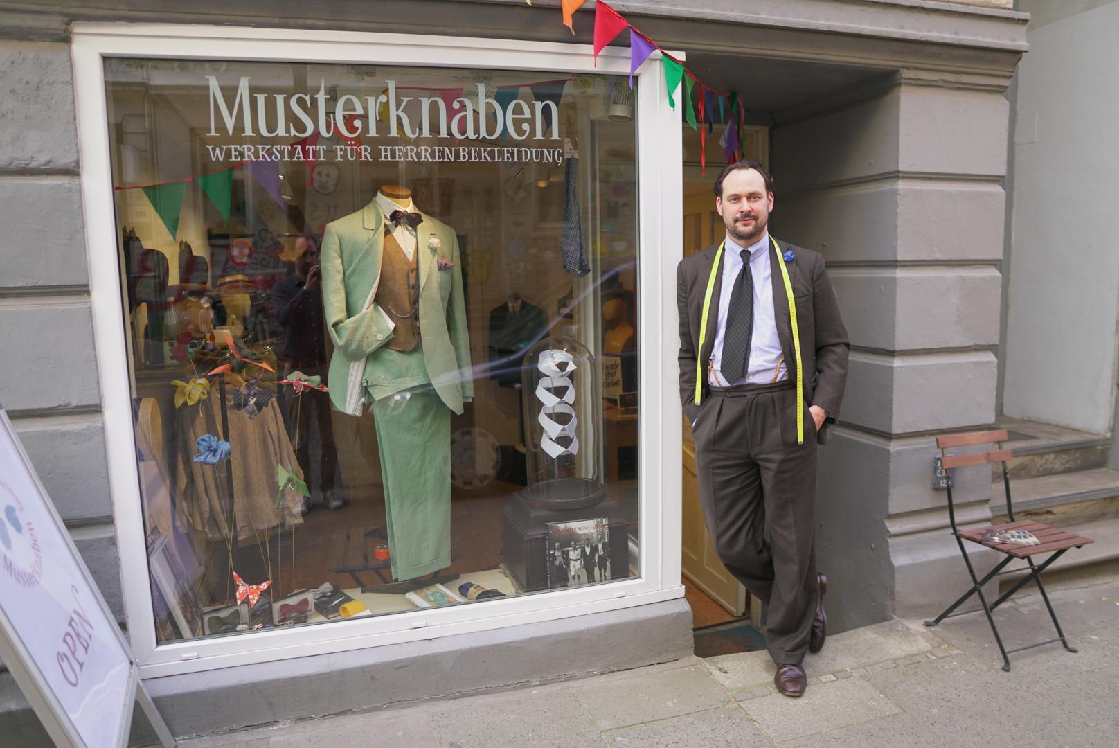 Musterknaben: Maßschneider aus Hamburg
