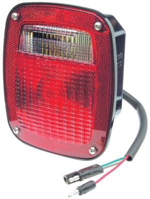 52972  TwoStud Ford® Stop Tail Turn Light w Pigtail