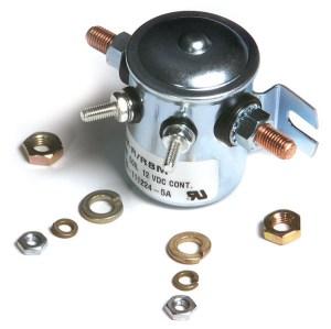 820308  Starter Solenoid Switch, 3 Ground, 12V