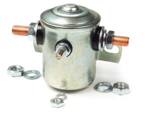 820307  Starter Solenoid Switch, 4 Ground, 12V