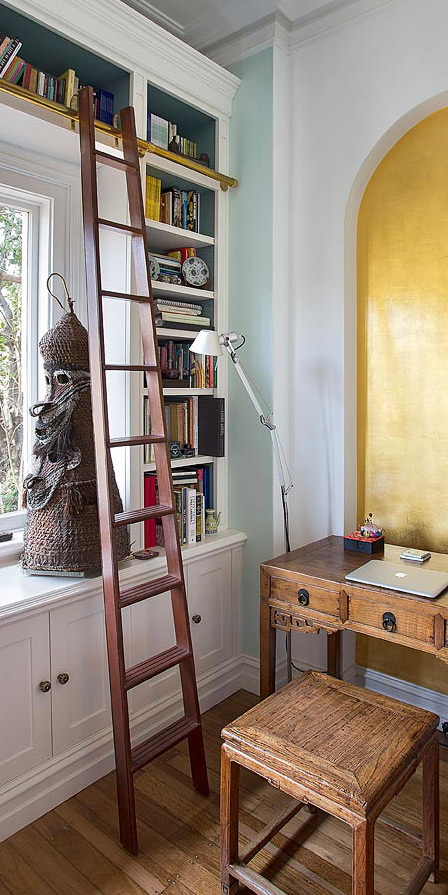 Library Ladder Design Sydney Groth Amp Sons Interiors And