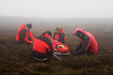 Mountain rescuers have a saying: 'victim is not dead until they are warm and dead'
