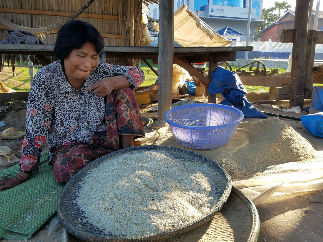 Eating Like a Local: Cambodian Flat Rice