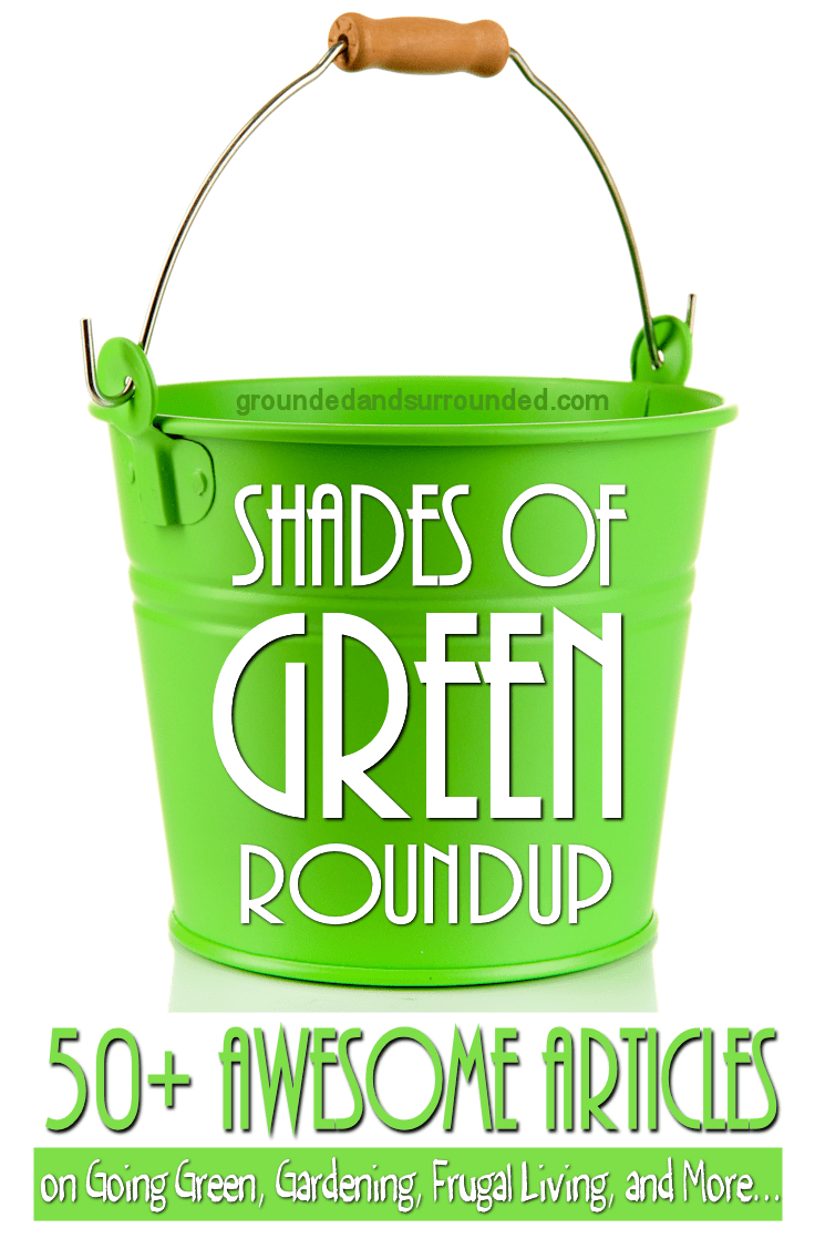 We simply adore all Shades of GREEN here at Grounded & Surrounded. This roundup includes more than 50 of our favorite articles, recipes, gardening, money, home, and kids activities about everything GREEN. https://www.groundedandsurrounded.com/shades-of-green-roundup/