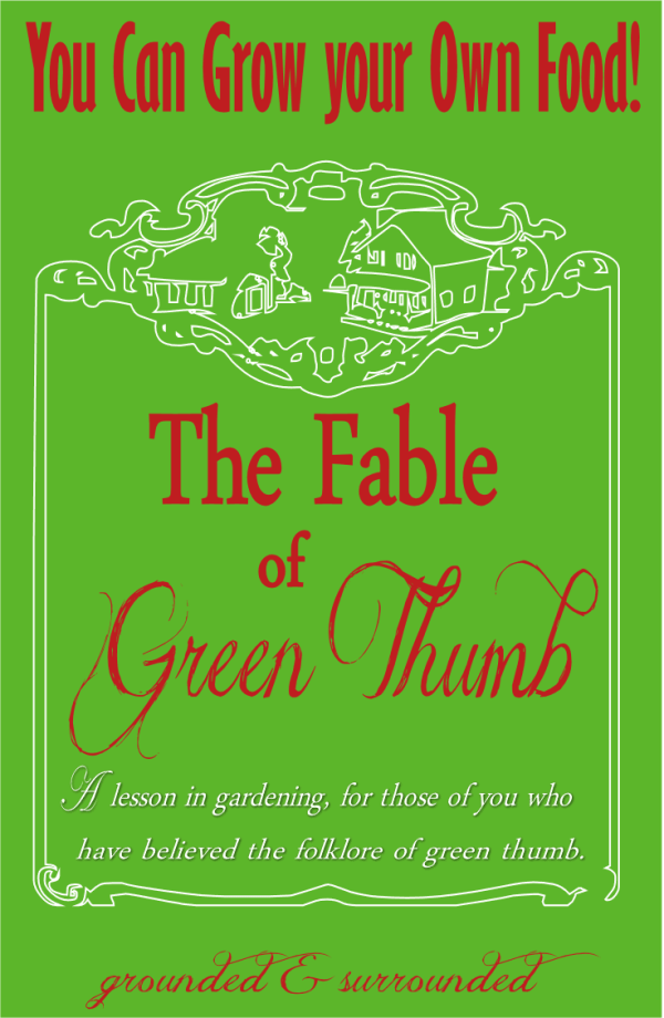 Everyone can grow their own food, even you! This gardening fable is a lesson in gardening for those of you who have believed the folklore of green thumb. https://www.groundedandsurrounded.com/gardening-fable-of-green-thumb-2/